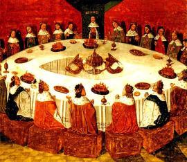 Margherita tenant conseil imperial