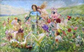 Orsay-Rochegrosse-Le-chevalier-aux-fleurs-(Parsifal)